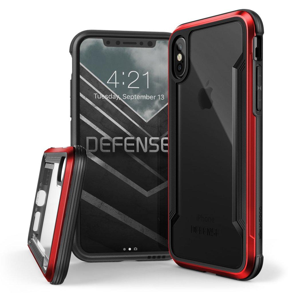 X Doria Defense Shield Series Case For Iphone X Red Color